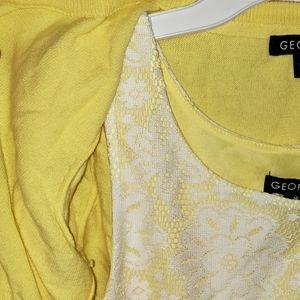 George Dresses - Dress & cardigan